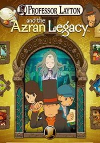 Обложка Professor Layton and the Azran Legacy