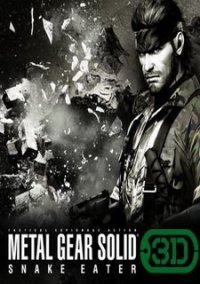 Обложка Metal Gear Solid 3D: Snake Eater