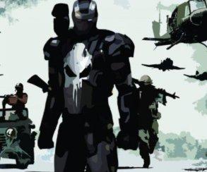 Каратель смотрится очень круто в костюме Железного человека