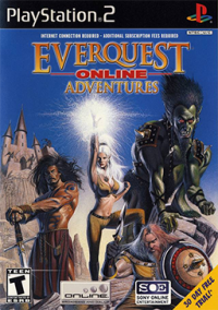 Обложка EverQuest Online Adventures