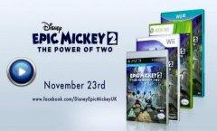 Epic Mickey 2: The Power of Two. Геймплейный ролик за Освальда, Счастливого кролика