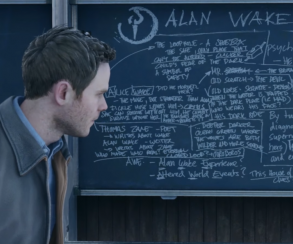 Quantum Break прозрачно намекает на Alan Wake's Return