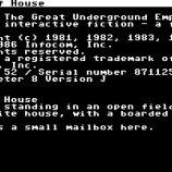 Скриншот Zork I