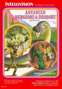 Обложка Advanced Dungeons & Dragons