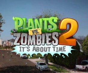 Состоялся релиз игры Plants vs. Zombies 2