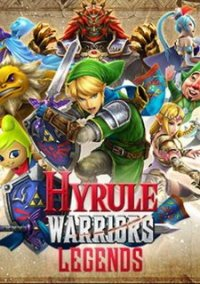 Обложка Hyrule Warriors Legends