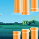 Скриншот Flying Saucer Pro: A Tiny UFO's Flappy Adventure in Gravity – Изображение 2