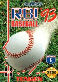 Обложка R.B.I. Baseball '93