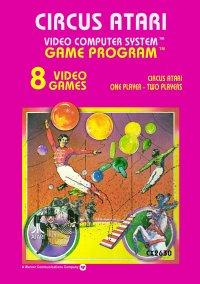 Обложка Circus Atari