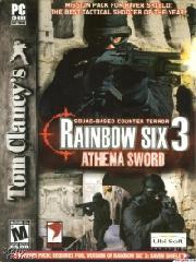 Обложка Tom Clancy's Rainbow Six 3:  Athena Sword