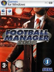 Обложка Football Manager 2008