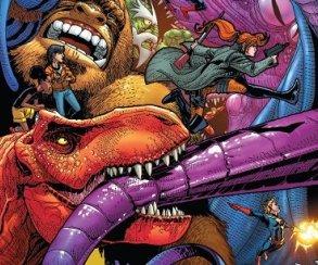 Теперь монстры помогают супергероям сражаться с другими монстрами