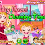 Скриншот Baby Hazel Cleaning Time