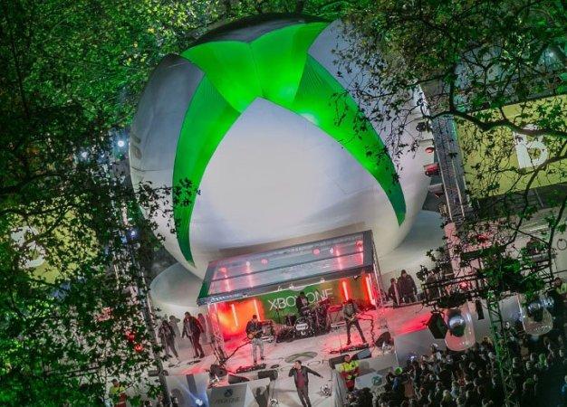 Репортаж с лондонской премьеры Xbox One