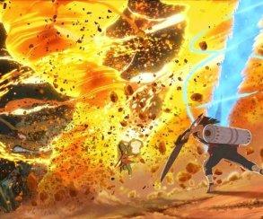 Первые кадры новой Naruto Shippuden охватил огненный смерч