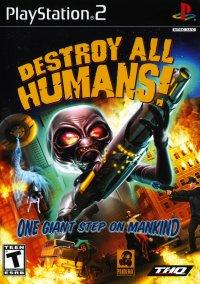 Обложка Destroy All Humans!