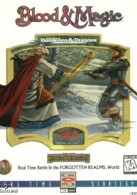 Обложка Advanced Dungeons and Dragons Blood and Magic