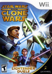 Обложка Star Wars The Clone Wars: Lightsaber Duels