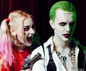 Косплей дня: Харли Квинн и Джокер из «Отряда самоубийц»