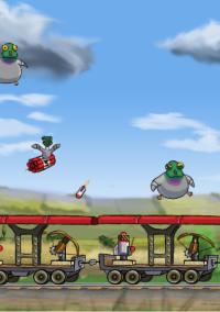 Обложка Pigeons on a Train