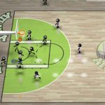 Скриншот Stickman Basketball – Изображение 2