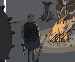Не пропустите этот отличный веб-комикс по Bloodborne