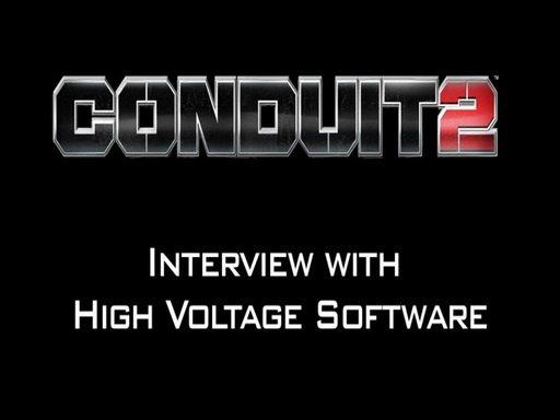 Conduit 2. Видеоинтервью