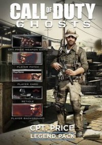 Обложка Call of Duty: Ghosts - Captain Price