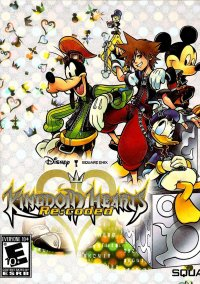 Обложка Kingdom Hearts Re:coded