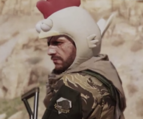 Беспомощным игрокам в MGS 5: The Phantom Pain наденут шапку петуха