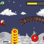Скриншот Super Mega Worm Vs. Santa – Изображение 1