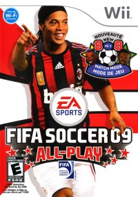 Обложка FIFA Soccer 09