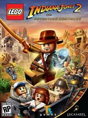 Обложка LEGO Indiana Jones 2: The Adventure Continues