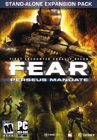 Обложка F.E.A.R. Perseus Mandate