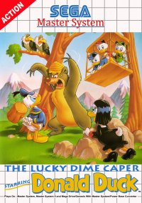 Обложка The Lucky Dime Caper Starring Donald Duck