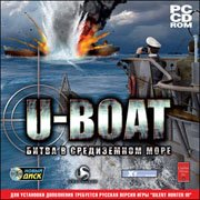 Обложка U-Boat: Battle in the Mediterranean
