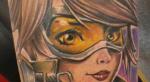 Любовь догроба: лучшие тату сгероями Overwatch - Изображение 2