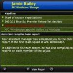 Скриншот Football Manager Handheld 2011 – Изображение 3