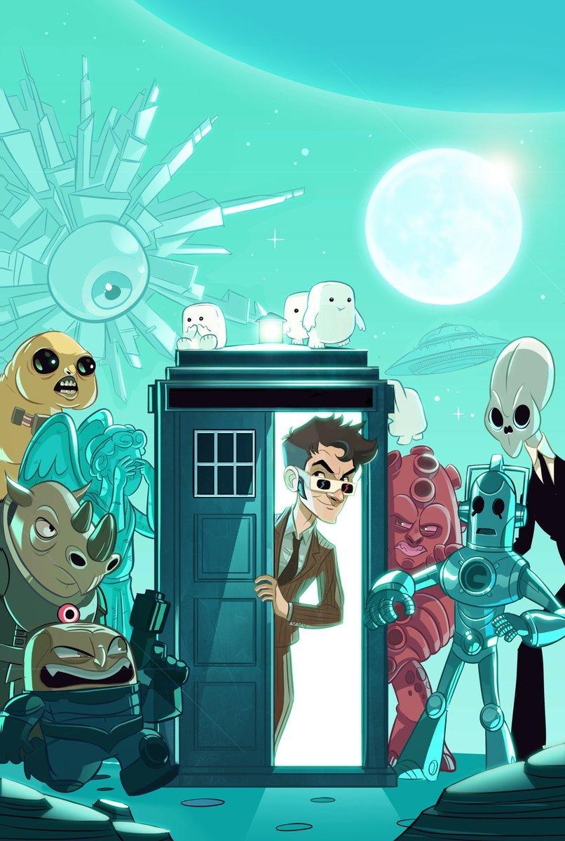 Четыре потрясающих Доктора на обложках комиксов «Доктор Кто» - Изображение 3