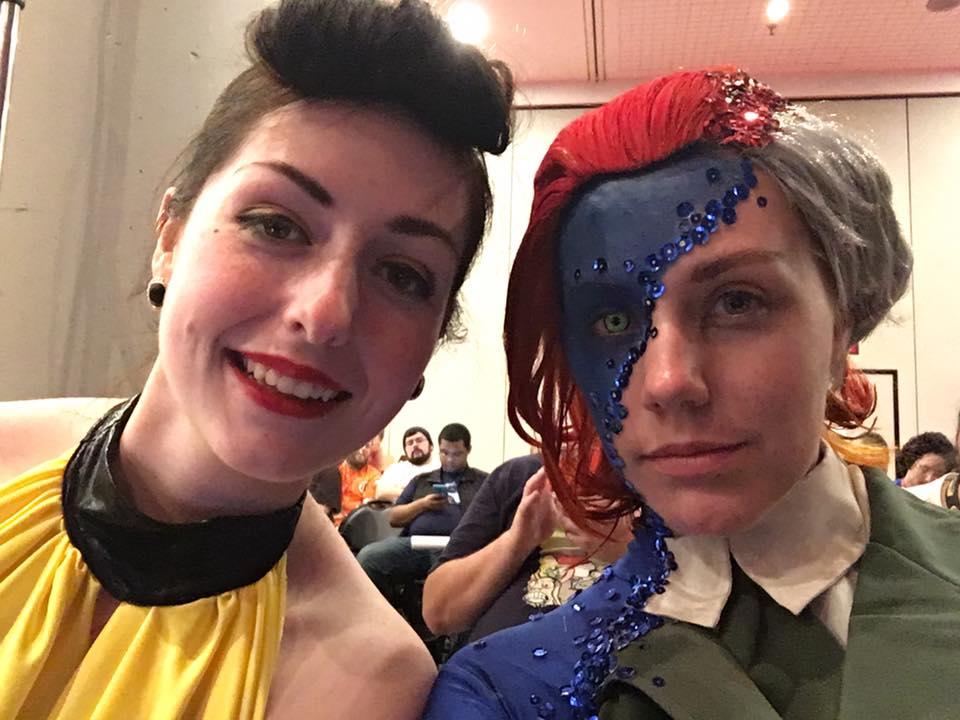 Потрясающий косплей Мистик сNew York Comic Con - Изображение 5
