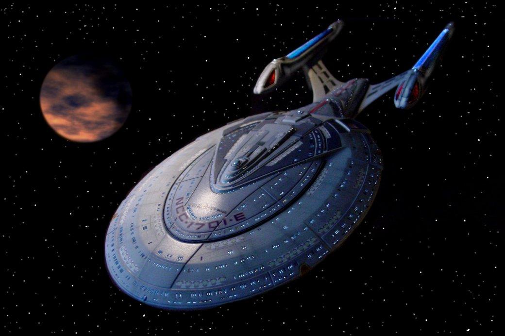В Китае найдено офисное здание в форме корабля из Star Trek. - Изображение 2