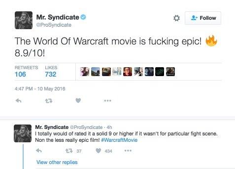 Кое-кто уже посмотрел экранизацию Warcraft - Изображение 1