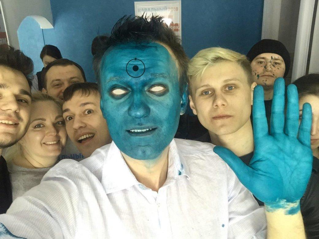 Зеленый Навальный: Маска? Шрек? Фантомас? Лучшие шутки из Интернета - Изображение 1