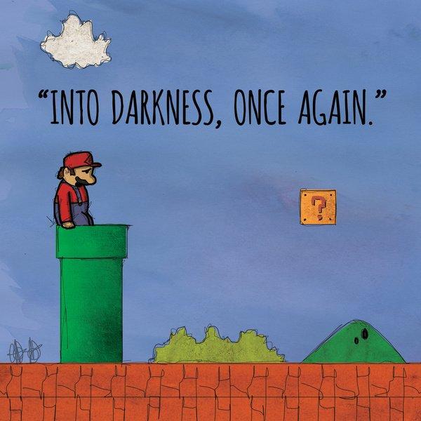 У 8-битных героев своя депрессия (арты) - Изображение 1