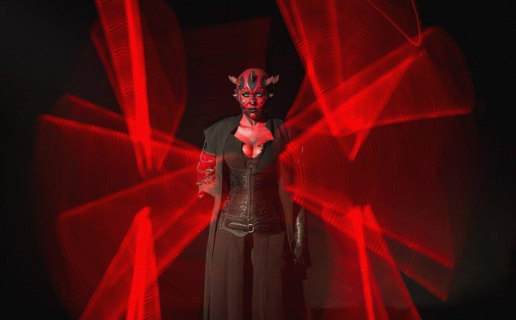 Косплей дня: невероятная женская версия Дарта Мола из«Звездных войн». - Изображение 11