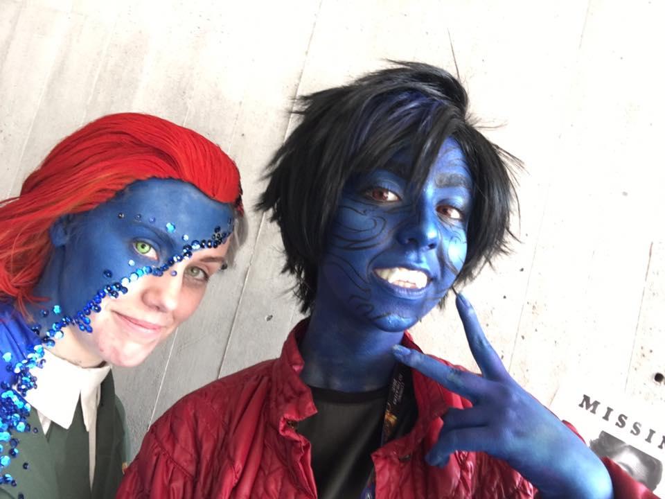 Потрясающий косплей Мистик сNew York Comic Con - Изображение 3