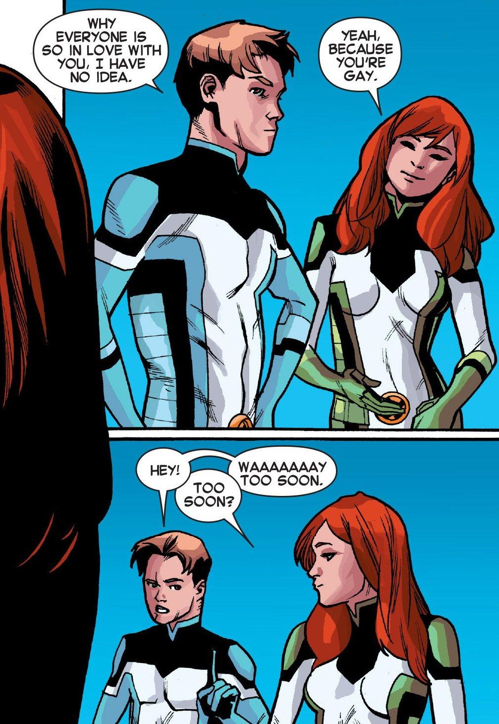 Как Marvel сменили сексуальную ориентацию Бобби «Айсбергу» Дрейку - Изображение 11