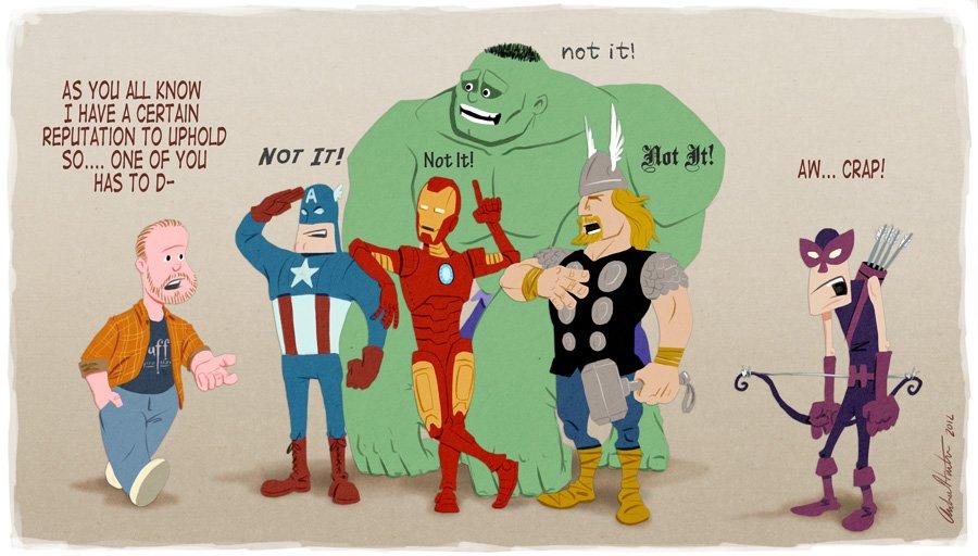 Галерея вариаций: Мстители-женщины, Мстители-дети... - Изображение 182