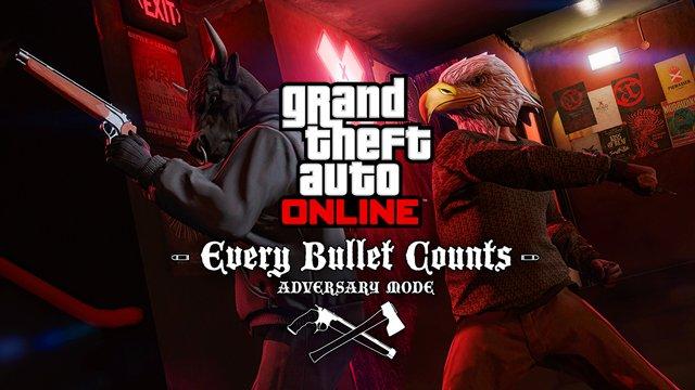 Две пули и одна жизнь: в GTA Online появился новый Adversary-режим - Изображение 1