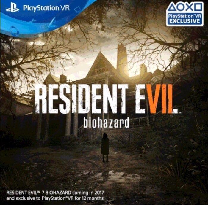 Resident Evil 7 будет эксклюзивом PS VR на протяжении года - Изображение 1